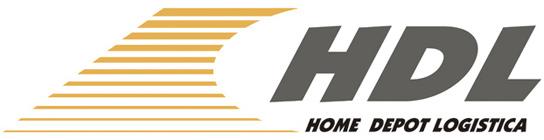 HDL Home Depot Logística Retina Logo